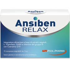 Pool Pharma Ansiben Relax 15 Compresse