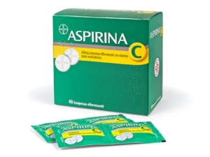 Aspirina C 400 Mg Compresse Effervescenti Con Vitamina C 40 Compresse In Strip Al/Pe/Carta-Pe/Al/Surlyn